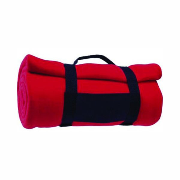 red-fleece-blanket-with-carry-strap-fp-tr225